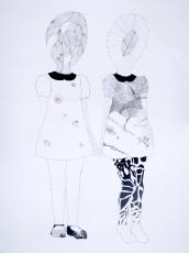 des-choses-et-des-choses-6-aquarelle-mine-graphite-et-couture-sur-papier-125x82-cm-2017