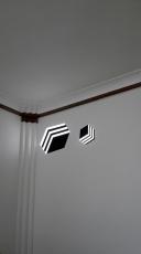 projection-lumineuse-et-feutre-noir-installation